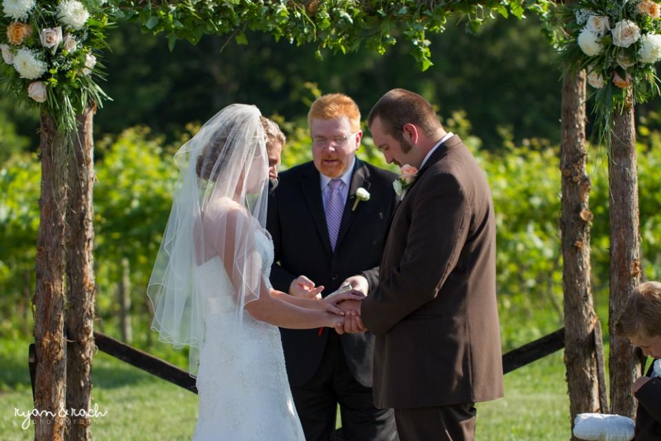 Preston ridge vineyard wedding