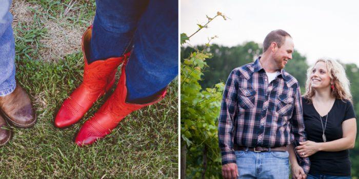 Ashley & Thomas | Barren Ridge Vineyard Engagement - Fishersville, VA
