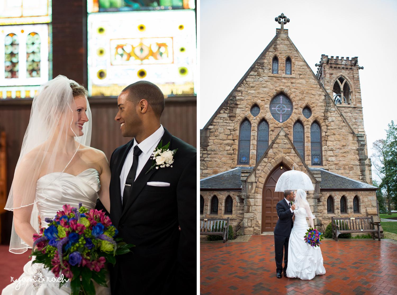 UVA Chapel Wedding Charlottesville VA