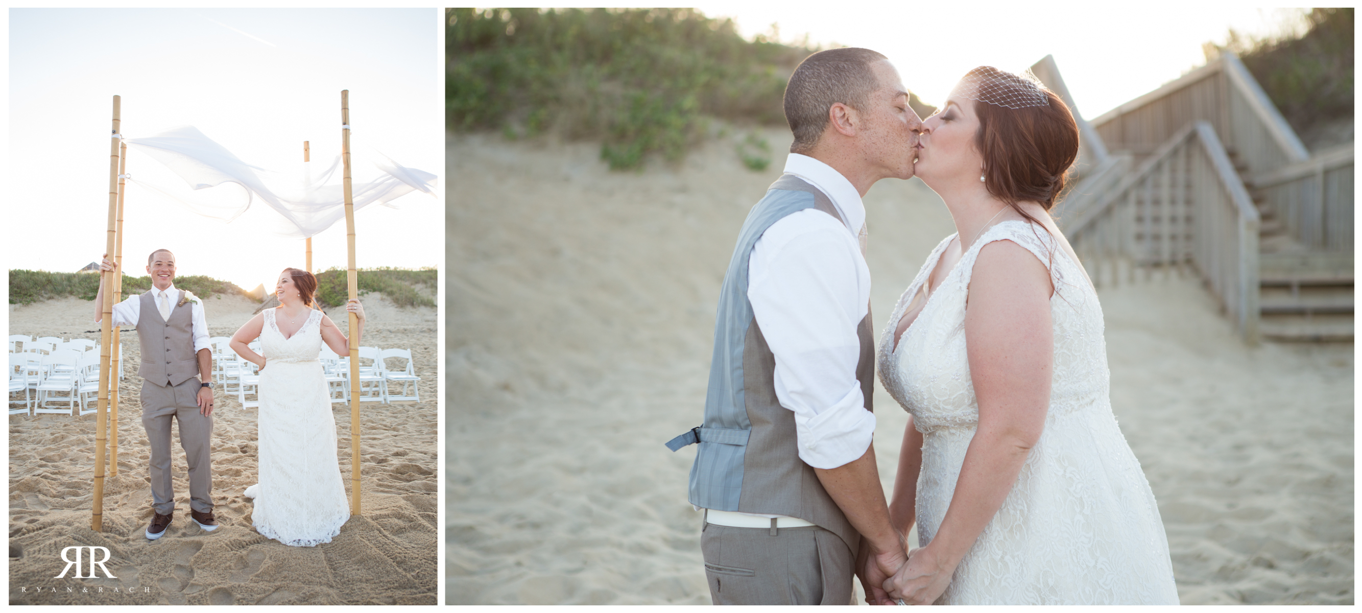 Village Beach Club Wedding Nags Head NC