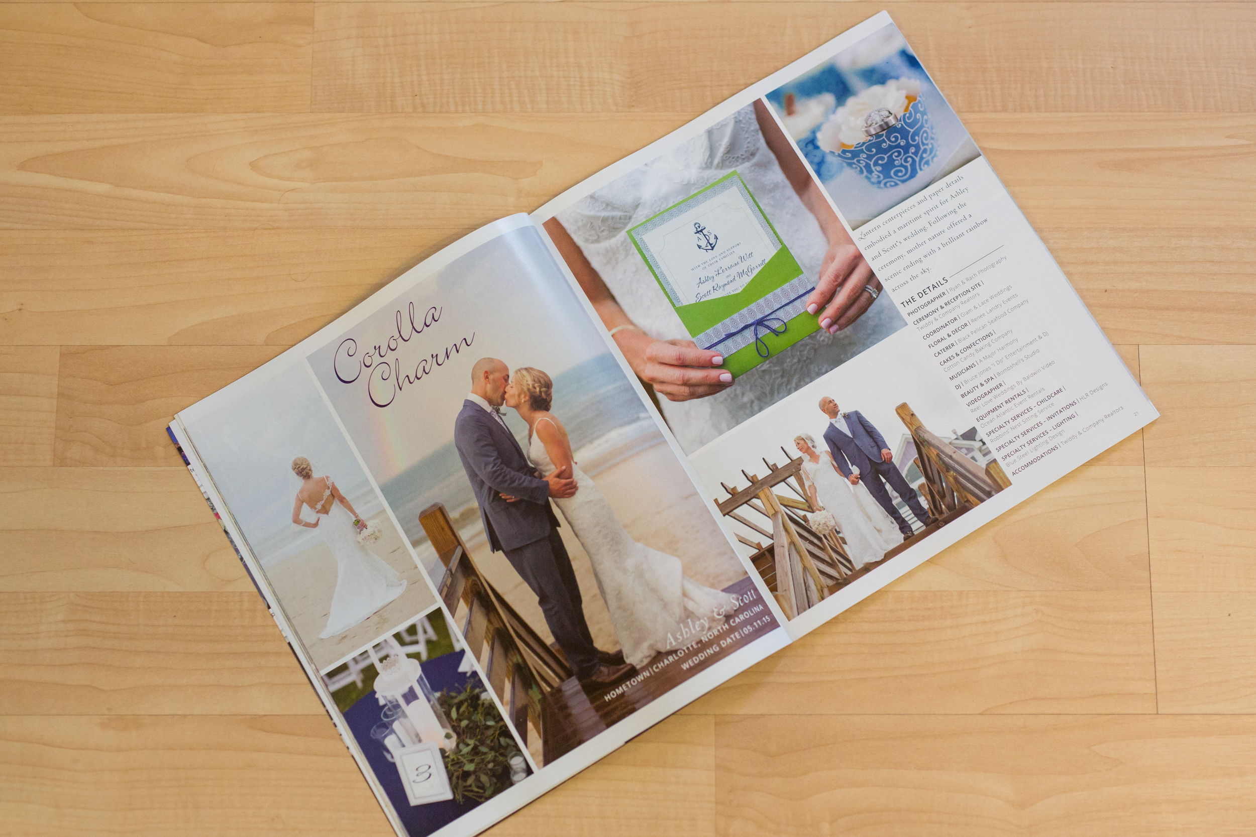 outer banks bride magazine 2016