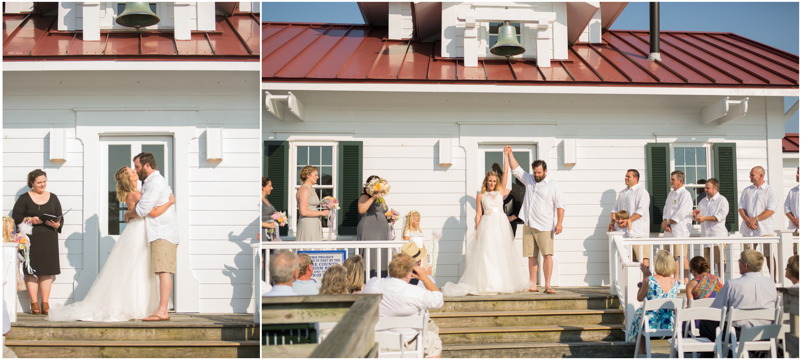 Marshes Lighthouse Wedding Manteo NC