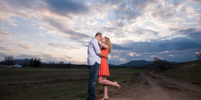 Rachel & Travis | Highland County Engagement Shoot