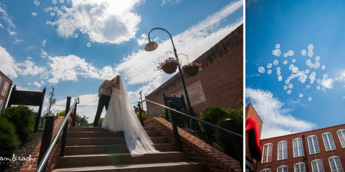 Ashlie & Mark | Craddock Terry Hotel Wedding - Lynchburg, Virginia