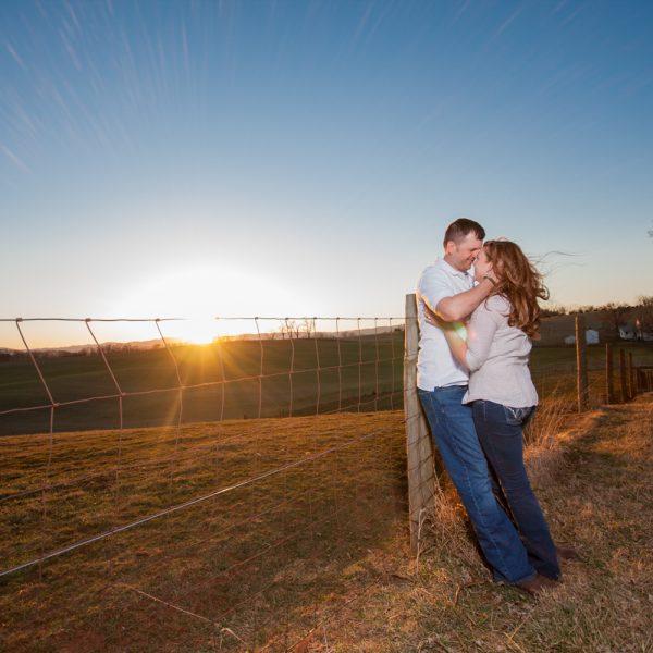 Megan & Mike | Sunny Slope Farm Engagement Session | Harrisonburg, VA