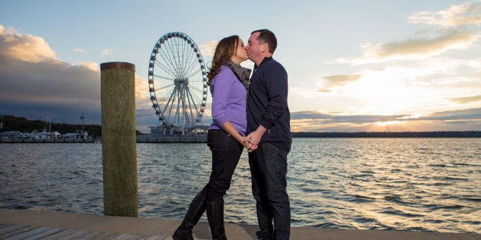 Jenn & Scott | Old Town Alexandria Engagement Session | Washington, D.C.