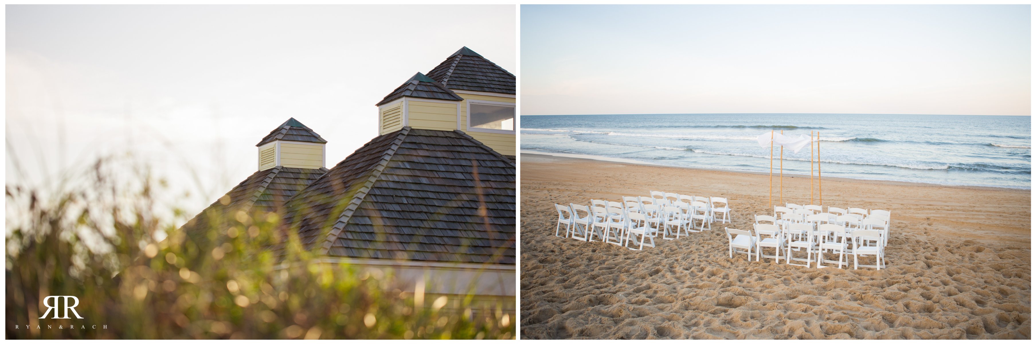 Village Beach Club Wedding Nags Head NC