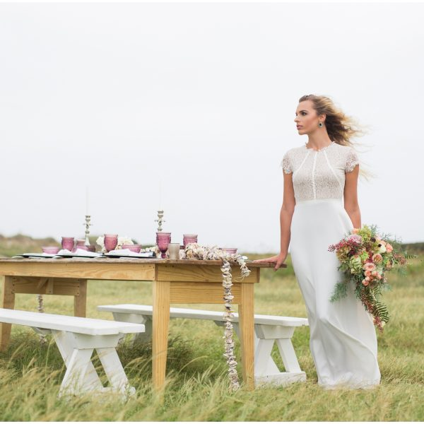 Earthly Elements & Windswept Beauties | Outer Banks Styled Shoot