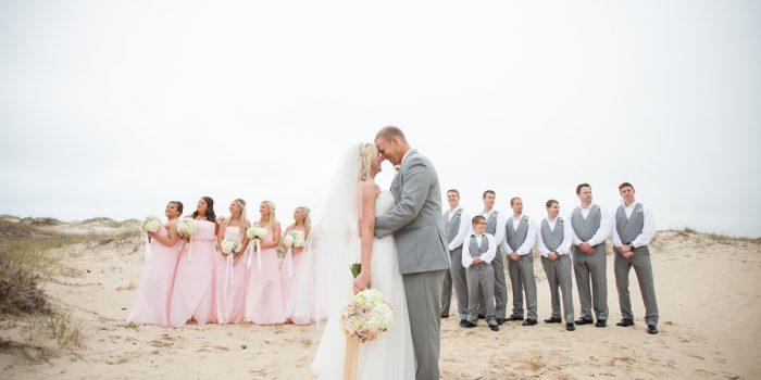 Ashley & Clint | Wild Horse Outer Banks Wedding | Corolla, NC
