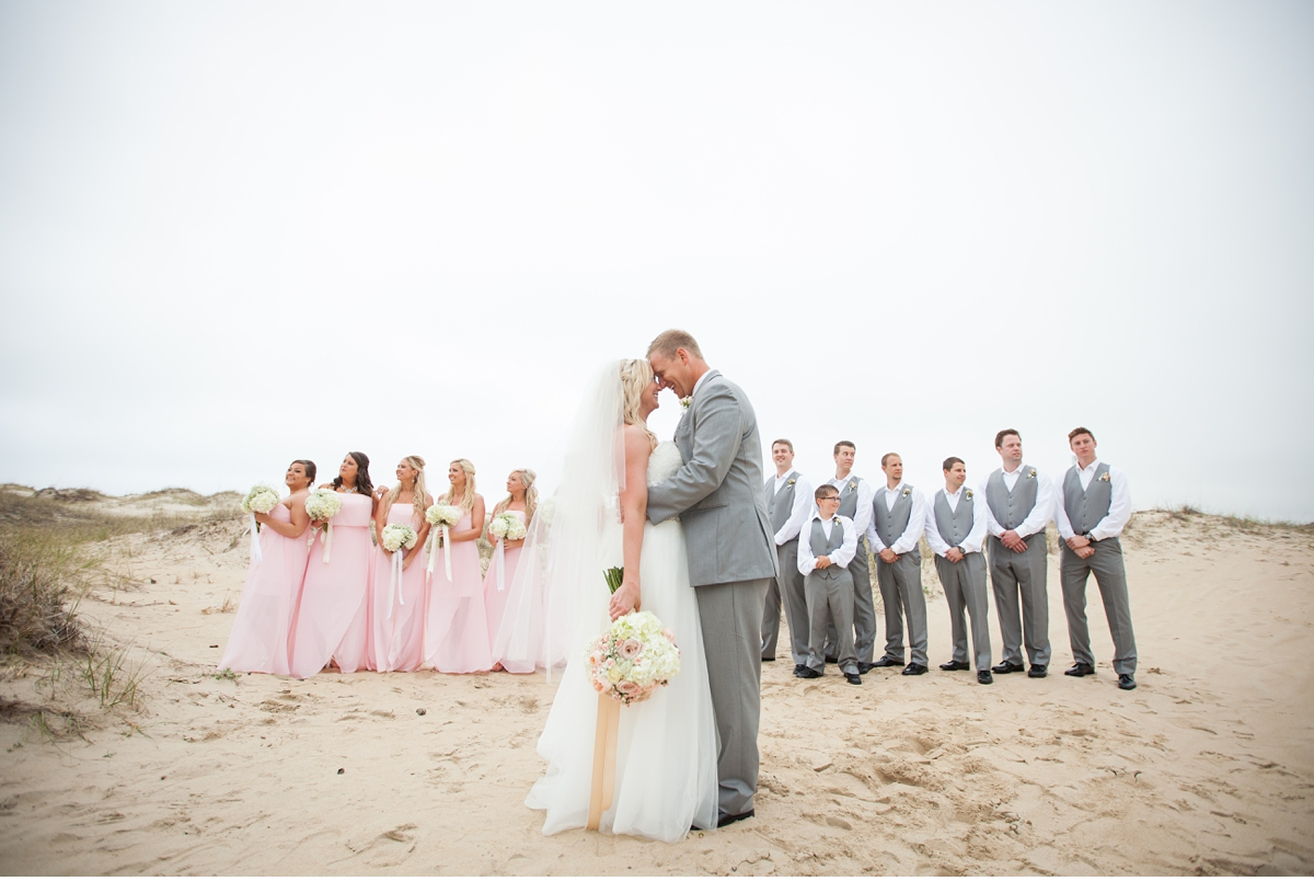 Wild Horse Outer Banks Wedding