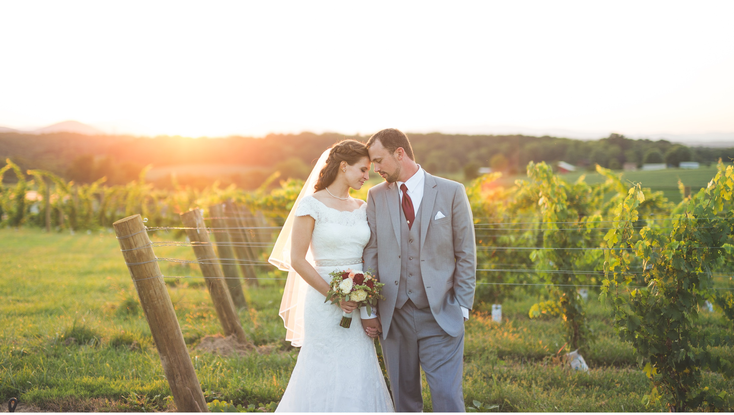 Barren Ridge Vineyards Wedding